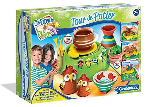 Clementoni - 52026.8 - Kit de Loisirs Créatifs - Tour de Potier