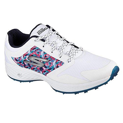 Skechers Performance Women's Go Eagle Major Golf-Shoes,White/Navy,8 M US