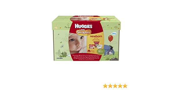 Amazon.com: Huggies Little Snugglers Newborn Diaper & Wipe Gift Set: Health & Personal Care