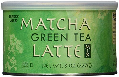 Trader Joe's Matcha Green Tea Latte 8 Oz, 2 Pack