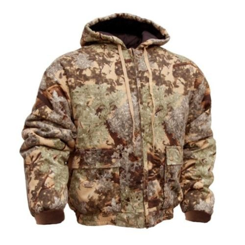 King's Camo Mens Cotton Duck Insulated Jacket Desert Shadow XLarge