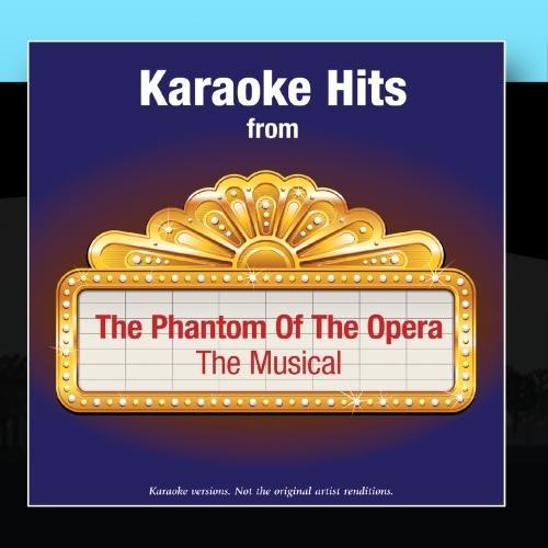 Phantom Of The Opera Karaoke Cd - Karaoke Hits from - The Phantom Of The Opera - The Musical