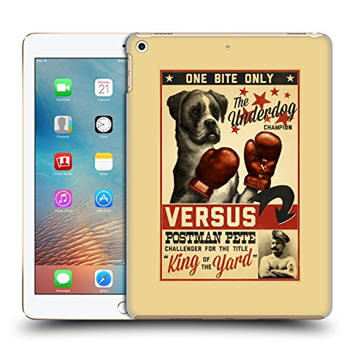 Polycarbonate Lanterns Collection (Official Lantern Press Versus Dog Collection Hard Back Case for iPad 9.7 2017 / iPad 9.7 2018)