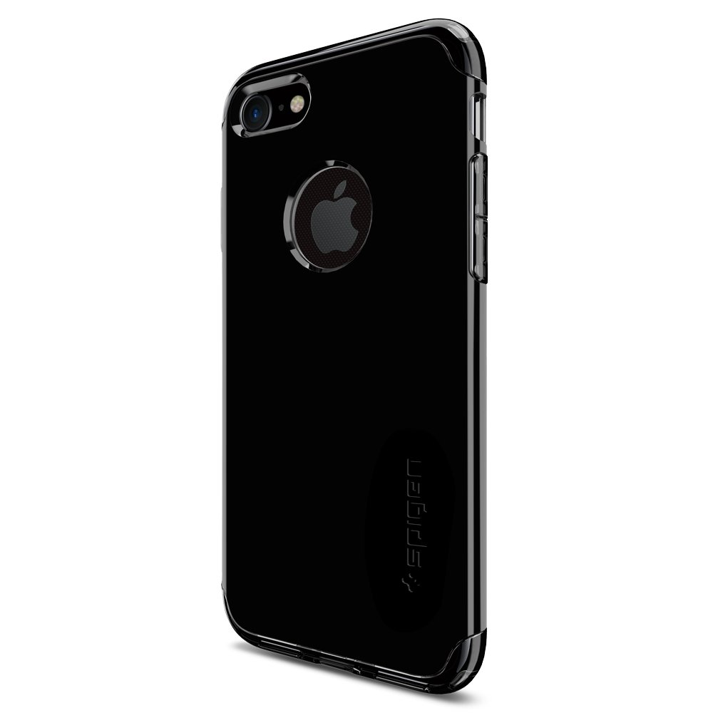 coque iphone 7 spigen hybrid armor air cushion noir de jais clear tpu pc. Black Bedroom Furniture Sets. Home Design Ideas