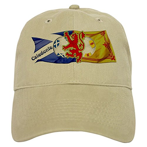 - CafePress Scotland Football Fashion - Baseball Cap with Adjustable Closure, Unique Printed Baseball Hat