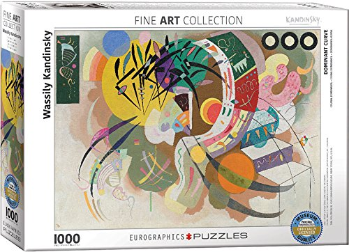 EuroGraphics Dominant Curve by Wassily Kandinsky (1000 Piece) Puzzle