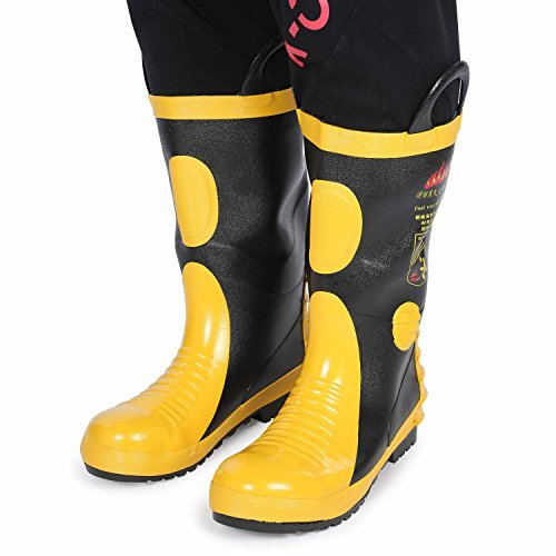 Holulo Firefighter Felt Lined Waterproof FR Boot (US9-95 - CN43) by Holulo