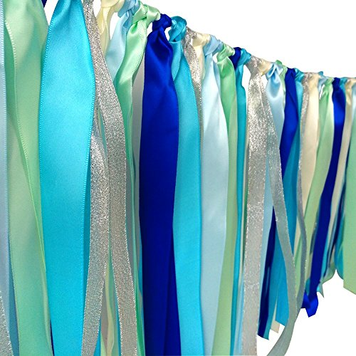 Hangnuo Colorful Ribbon Tassel Garland Already Assembled for