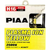PIAA 13509 H16 Ion Yellow Performance Bulb, (Pack of 2)