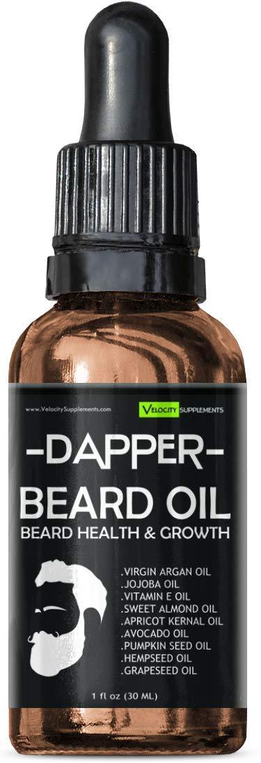 Beard Oil for Beard Growth, Beard Thickness, Beard Scent & Beard Health by Velocity Supplements (Image #5)
