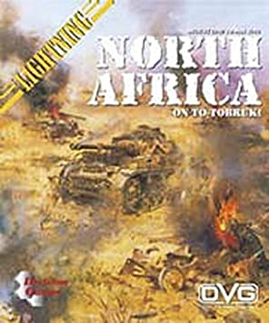 DG: Lightning War: North Africa Game: Amazon.es: Juguetes y juegos
