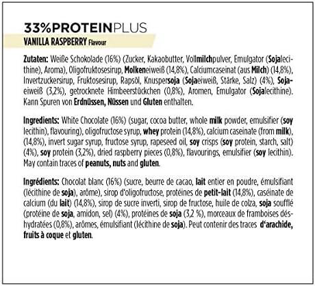 Powerbar Protein Plus 33% 90g - Vanilla, Raspberry