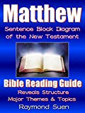 Matthew - Sentence Block Diagram Method of the New Testament :  Bible Reading Guide - Reveals Structure, Major Themes & Topics