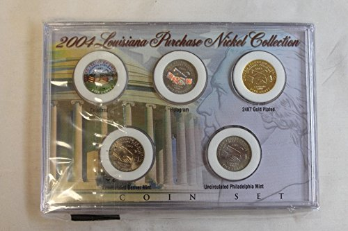 Genuine 2004 Louisiana Purchase Nickel Collection (CC2245)