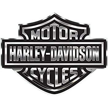 amazon com harley davidson decal chrome bar shield logo x large rh amazon com harley bar and shield logo bar and shield logo history