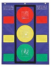 Carson Dellosa Stoplight Pocket Chart (158024)