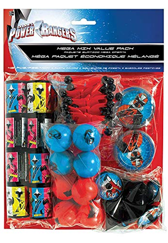 Amscan Power Rangers Party Favors