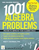 1001 Algebra Problems, LearningExpress Editors, 1576857646