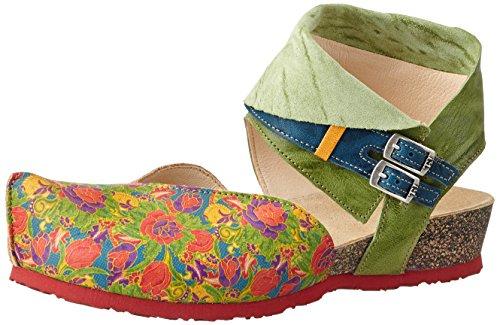 Think Kessy, Sandalias con Cuña para Mujer Multicolor (multicolour 99)