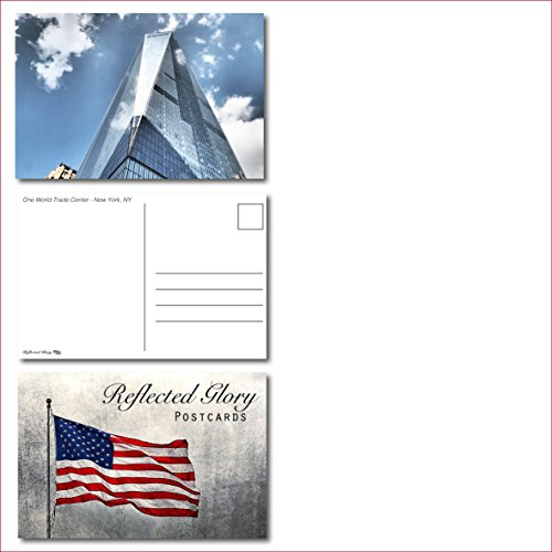 US National Monuments postcards pack - Set of 25 individual postcards featuring America's most famous national monuments and man made landmarks Photo #2