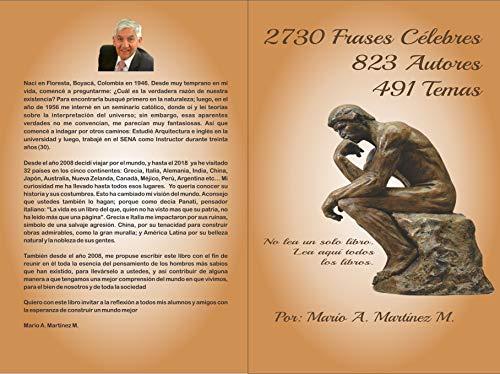 Amazoncom 2730 Frases Célebres 823 Autores 491 Temas