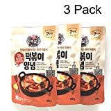 Korean Sweet & Spicy TTeokbokki Hot Sauce Stir-fried squid Bulgogi Gochujang (Pack of 3)
