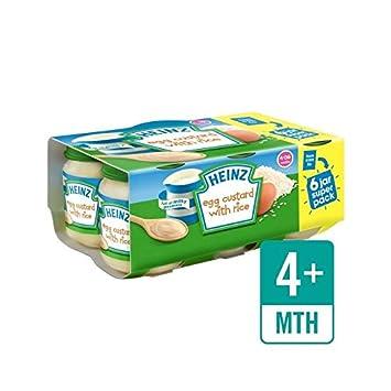 Heinz Eivanillepudding Mit Reis Jar 6 X 120 G - Packung mit 6
