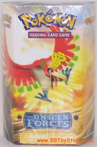 Pokemon Trading Card Game EX Unseen Forces Theme Deck Golden