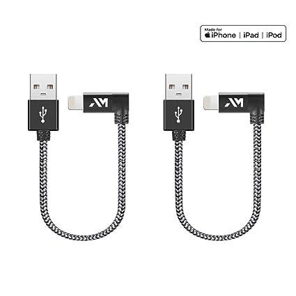 Cable Lightning, Cable de Carga Amazer para iPhone [Certificado ...