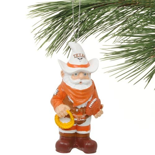 Texas Longhorns Team Mascot Gnome Ornament