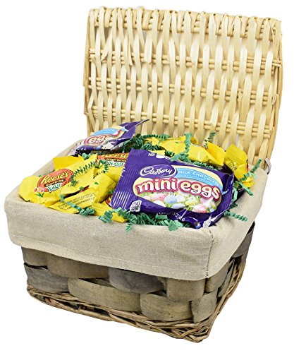 Easter-Gift-Basket-3Lbs-Cadbury-Mini-Eggs-and-Reeses-Peanut-Butter-Cup-Eggs-Easter-Candy-by-Gift-Universe