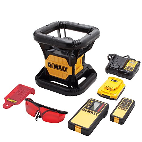 DEWALT DW074LR 20V MAX Red Rotary Tough Laser
