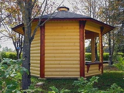 Cenador de madera de jardín de 9,9 m²: Amazon.es: Bricolaje y herramientas