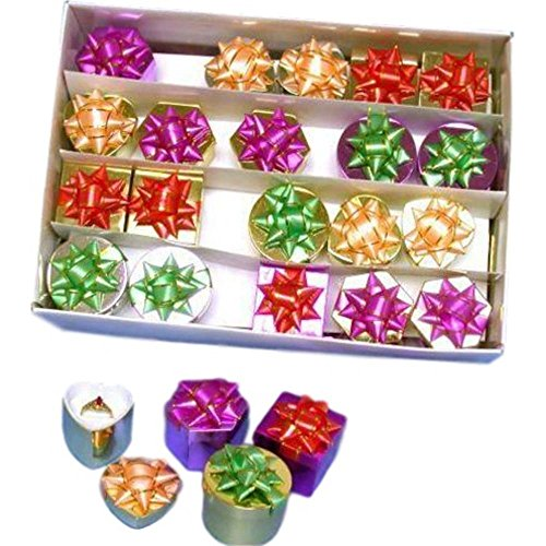 48 Assorted Paper Hat Ring Wholesale Jewelry Display Gift Boxes by FindingKing
