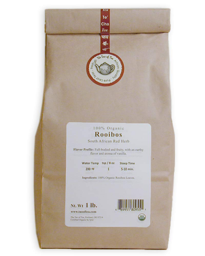 The Tao of Tea Rooibos, 100% Organic African Red Herb, 1-Pound by The Tao of Tea