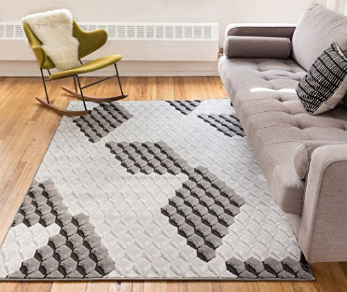 [해외]프론트 링 멀티 컬러 베이지 기하학적 도트 & amp; /Pronto Rings Multi Color Beige Geometric Dots & Circles 2x7 (2` x 7`3  ) Runner Area Rug Modern Abstract Easy Care & Cleaning Shed Free Carpet