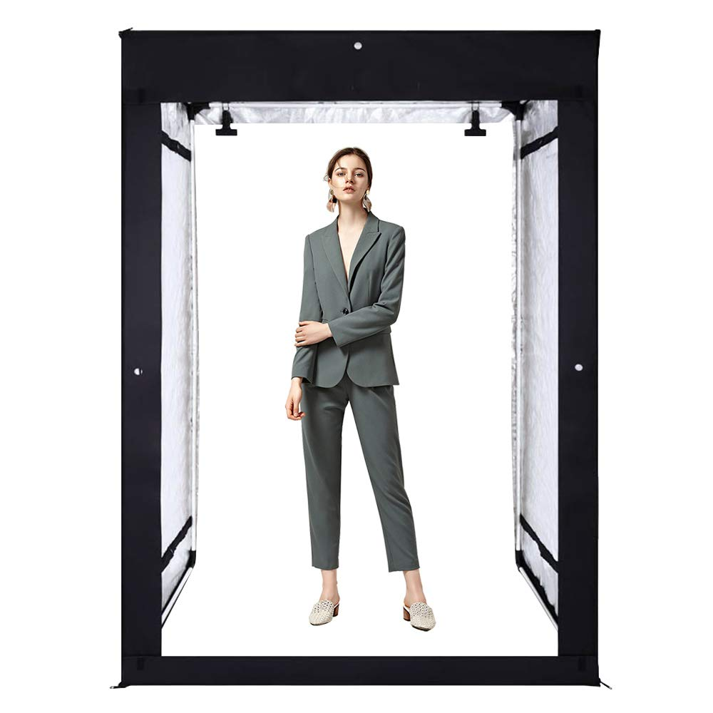 GVM Portable Photo Studio Box, 79''x48''x39'', Professional Photo Studio with LED Light, Foldable and Easy Set up Photo Lighting Studio, Photo Studio Kit for Photography