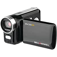 HD Digital Video Camcorder Bell+Howell DV200HD 5.0MP Dv200HD Black - ONE YEAR