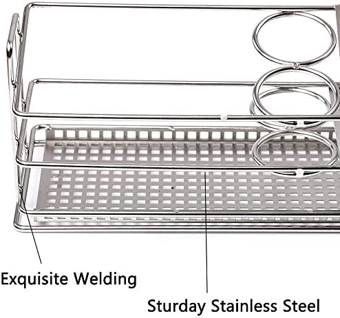 Stainless Steel Toothbrush Holder Large Capacity