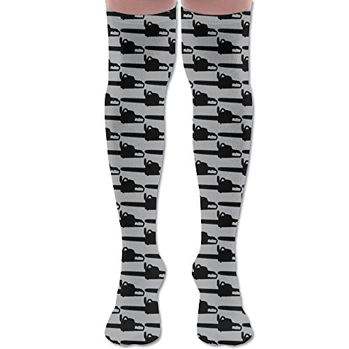 Chainsaw Grey Athletic Tube very long Stockings Women's Men's classics Compression Stockings Socks Sport very long Sock One Size Cyber Monday 2017