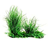 CNZ Aquarium Aquascape Artificial Plastic Plant, Green
