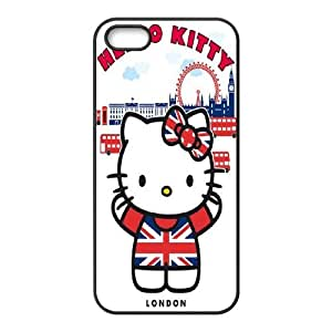 Best Phone case At MengHaiXin Store Beautiful Hello Kitty Pattern Pattern 237 For Apple Iphone 5 5S Cases