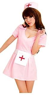 Amazon.com: Aedericoe - Disfraz de enfermera para niña ...