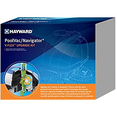 Hayward Navigator Poolvac Ultra XL V-Flex Upgrade Kit PLUS VVX3000SCKITWH: Garden & Outdoor