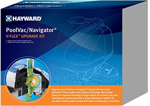 - Hayward Navigator Poolvac Ultra XL V-Flex Upgrade Kit PLUS VVX3000SCKITWH