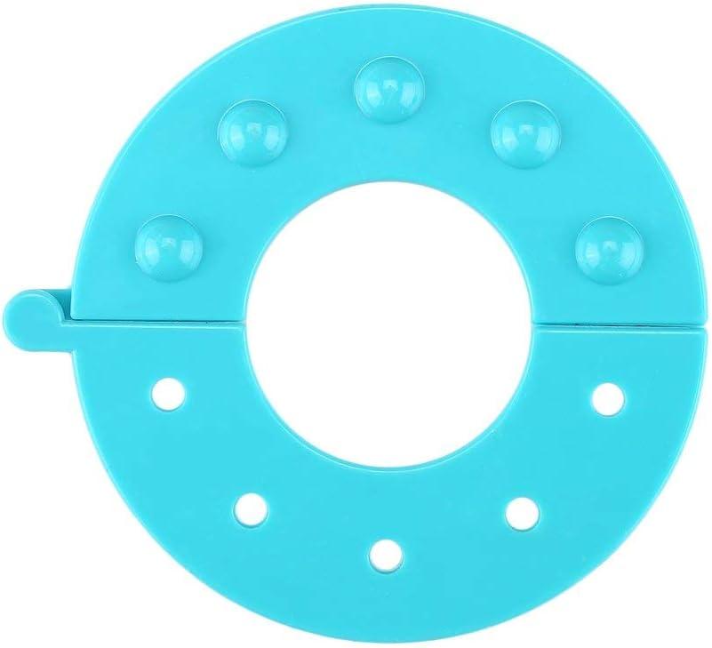 HuldaqueenCA 8 PCS 4 Sizes Essential Pom Maker Fluff Ball Weaver Needle Craft Tool Kit