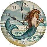 Ohio Wholesale Water Collection Mermaid Clock