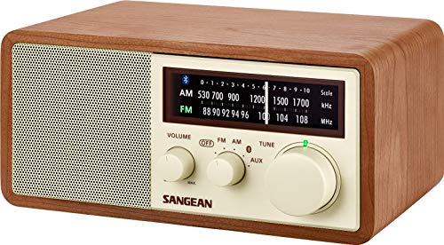 Sangean WR-16 AM/FM/Bluetooth Wooden Cabinet Radio with USB Phone Charging by Sangean (Image #4)