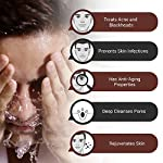 The Man Company Activated Charcoal Face Wash for Men | Ylang Ylang & Argan Essential Oils | Anti Pollution, Acne Oil…