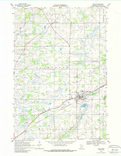 Minnesota Maps | 1968 Foley, MN USGS Historical Topographic